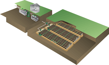 Installation septique commerciale, communautaire ou institutionnelle 5