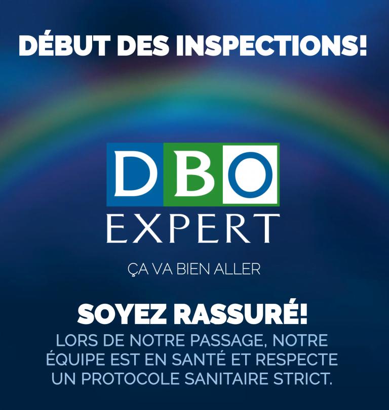 Début des inspections 2020