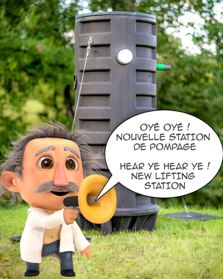 La station de pompage – DBO))Clic