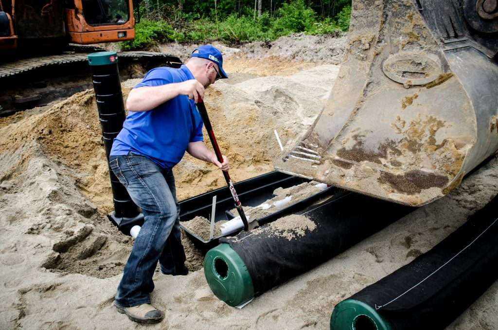 Case Study - Community septic system on the shores of a lake 3