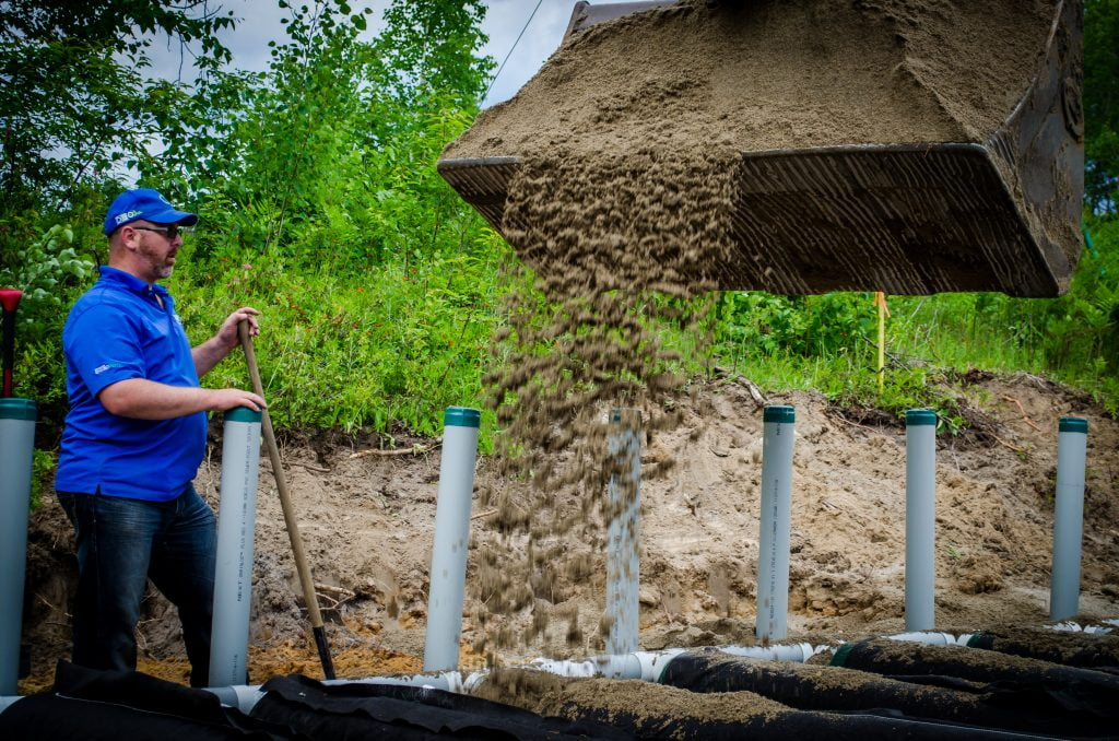 Case Study - Community septic system on the shores of a lake 6
