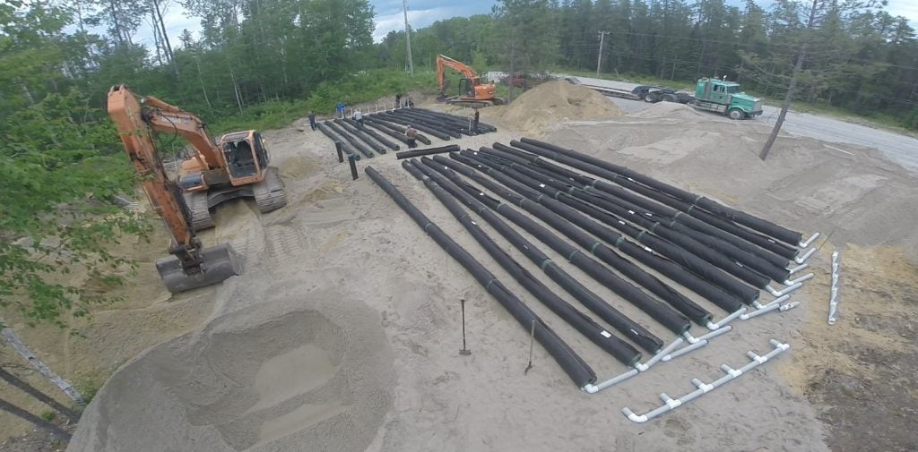 Case Study - Community septic system on the shores of a lake 5