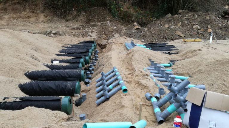 Système de traitement des eaux usées pour un centre de vacances en France - Étude de cas 4