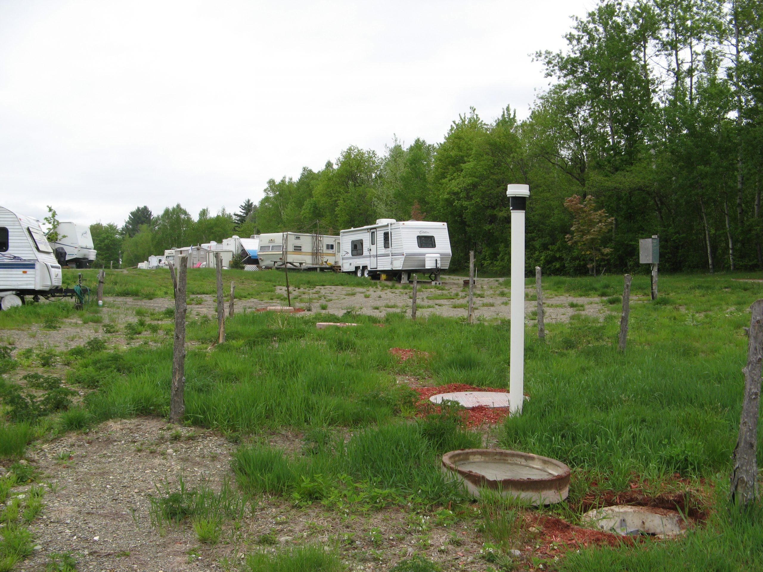 Septic system for a lakeside campground in Quebec - Case Study 1