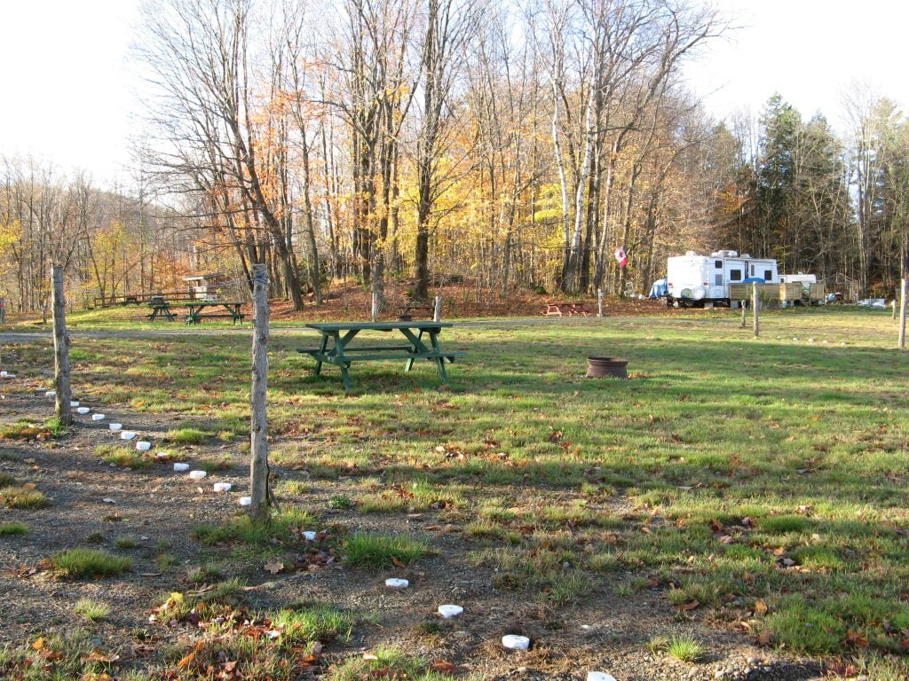 Septic system for a lakeside campground in Quebec - Case Study 4