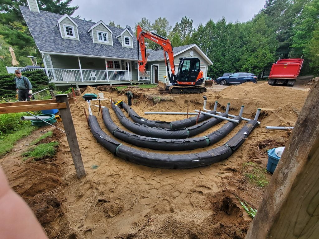 How to adapt a septic system to the terrain - DBO))Clic 1