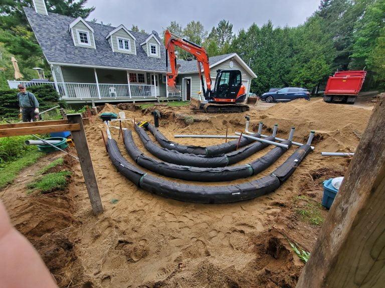 Comment adapter une installation septique au terrain – DBO))Clic